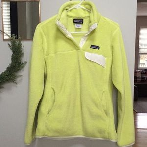 Patagonia Re-Tool pullover snap fleece. Size M.